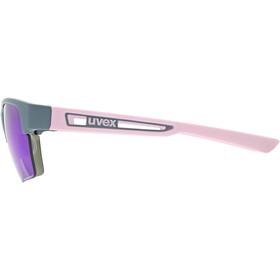 UVEX Sportstyle 805 Colorvision Glasses grey/rose matt/mirror plasma